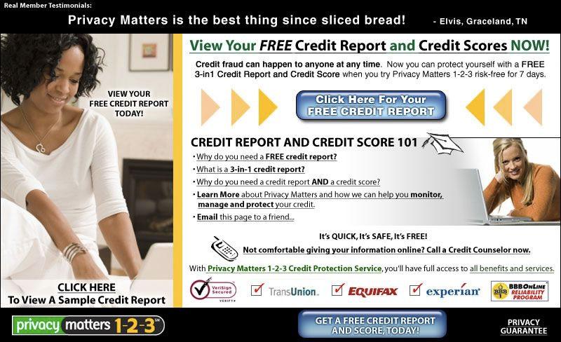 Free Credit Report 1