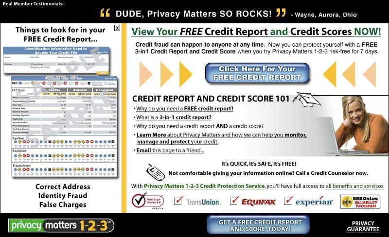 Free Credit Report 2