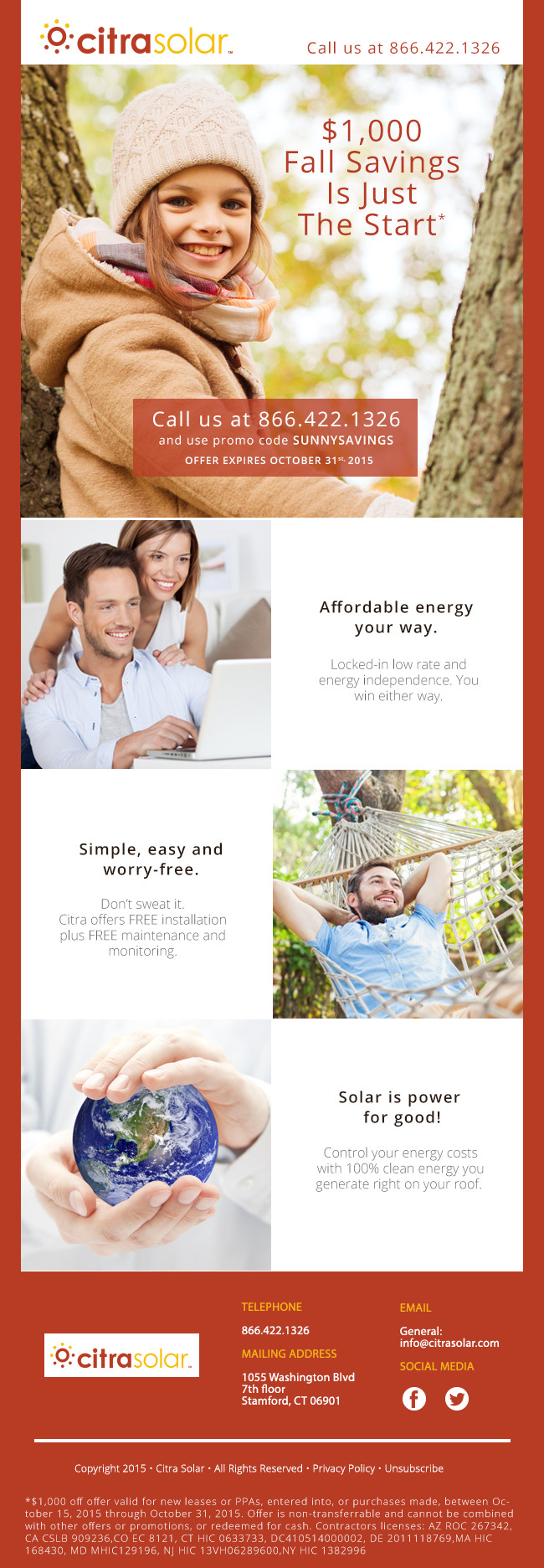 Sunny Savings Citra